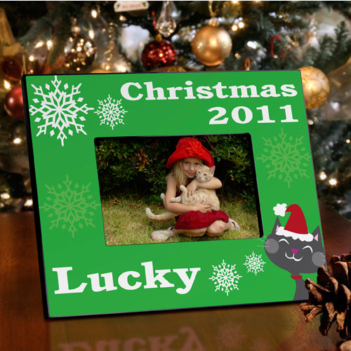 Personalized Purr-fect Christmas Frame