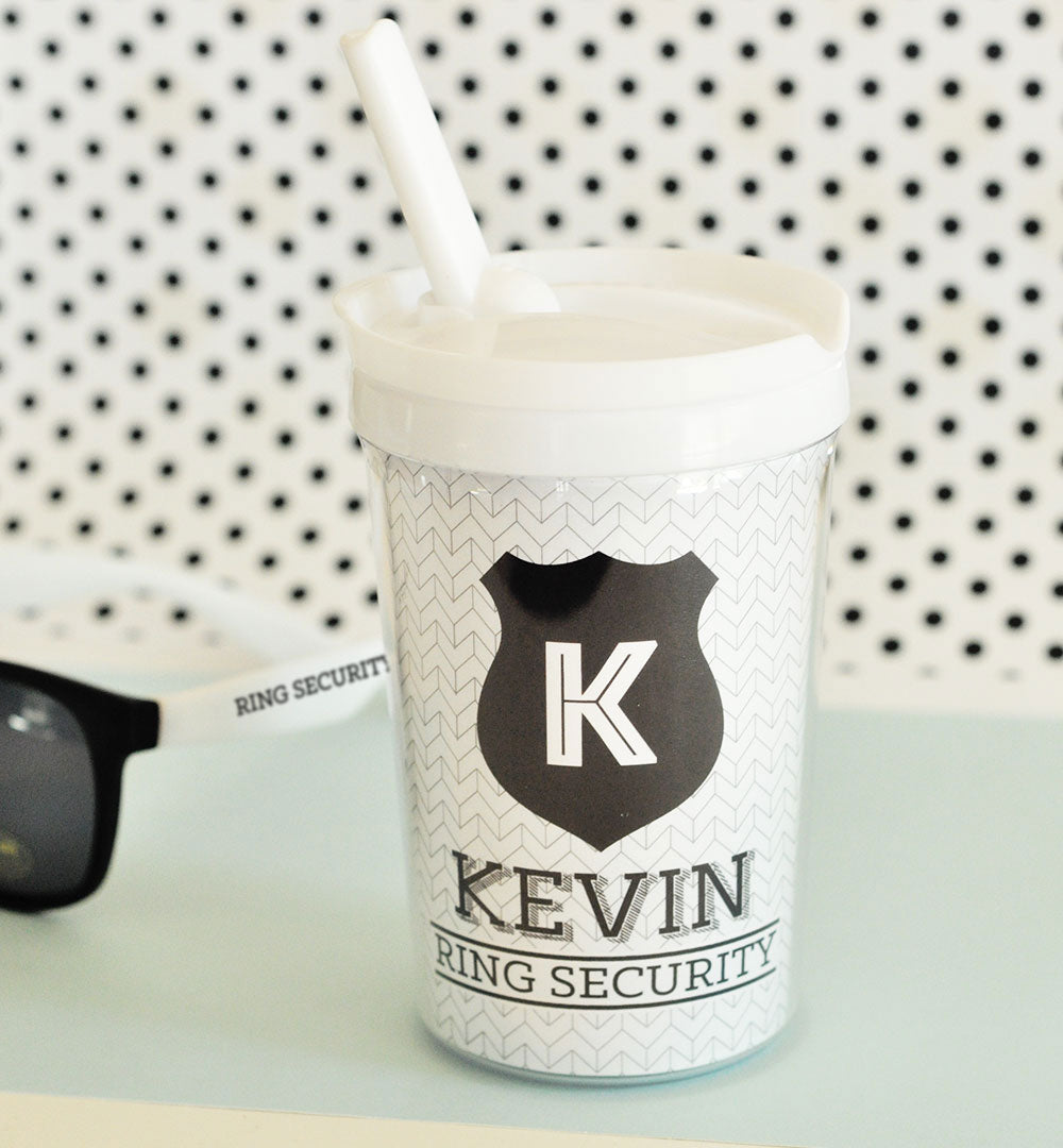 Personalized Ring Bearer Sippy Cup