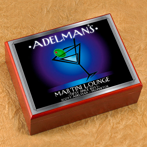 Martini Lounge Design Humidors (4 Designs)