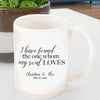 Song of Solomon 3:4 Personalized Coffee Mug