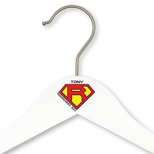 Superhero Ring Bearer Hanger