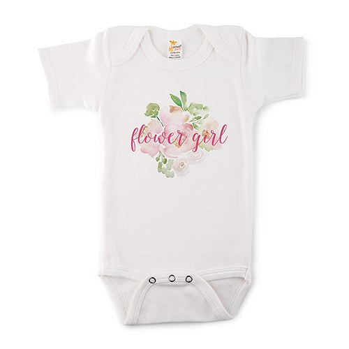 Flower Girl Baby Onesie