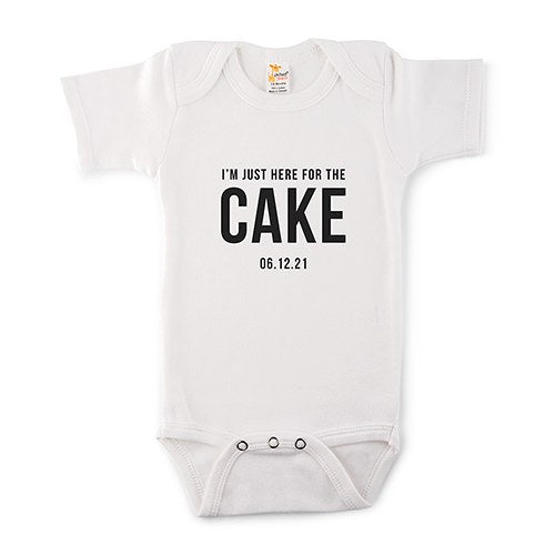 Here for the Cake Onesie