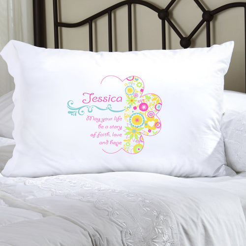 Personalized Celebrate Faith Pillow Cases