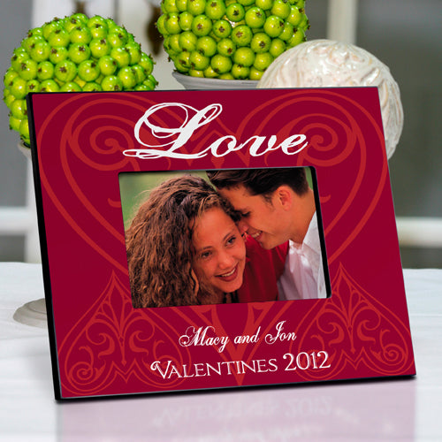 Personalized Roses are Red Picture Frame