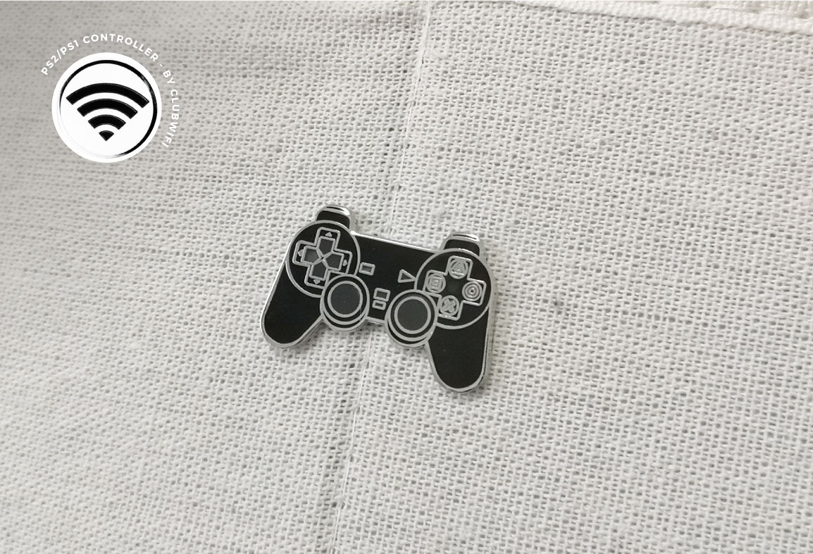 Gaming Controller Enamel Pin by WifiClub