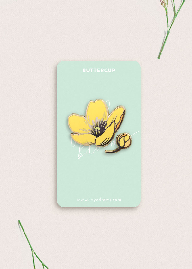 Buttercup Flower Pin [Pre-order]
