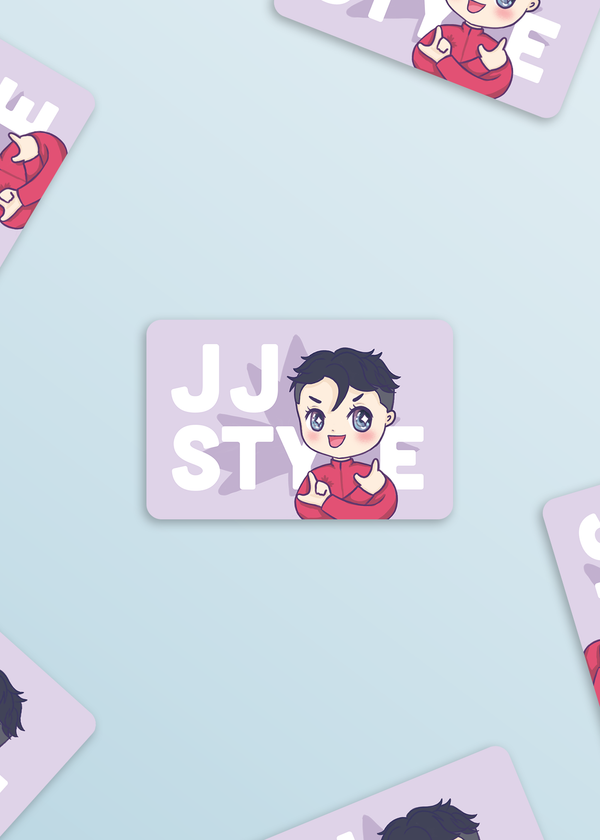 Anime Sticker: JJ Style (Yuri On Ice)