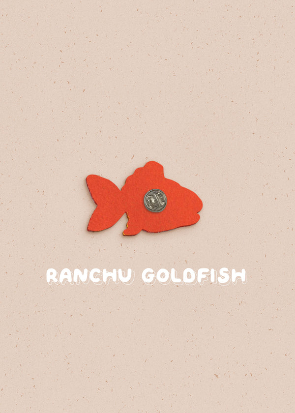 Goldfish Pin