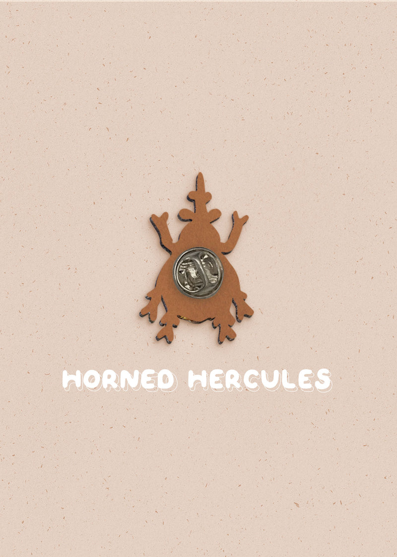 Horned Hercules Pin