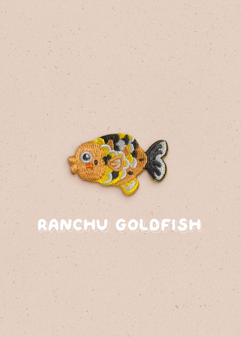 Ranchu Goldfish Pin