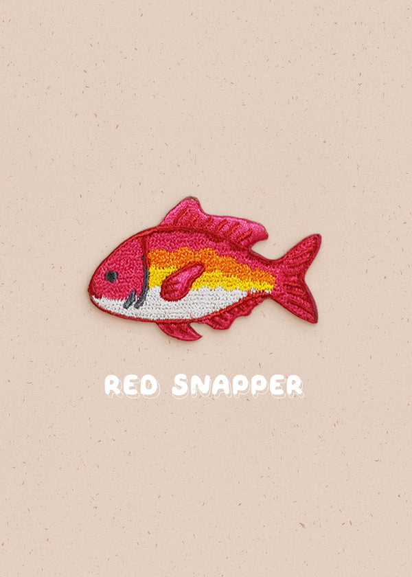 Red Snapper Pin