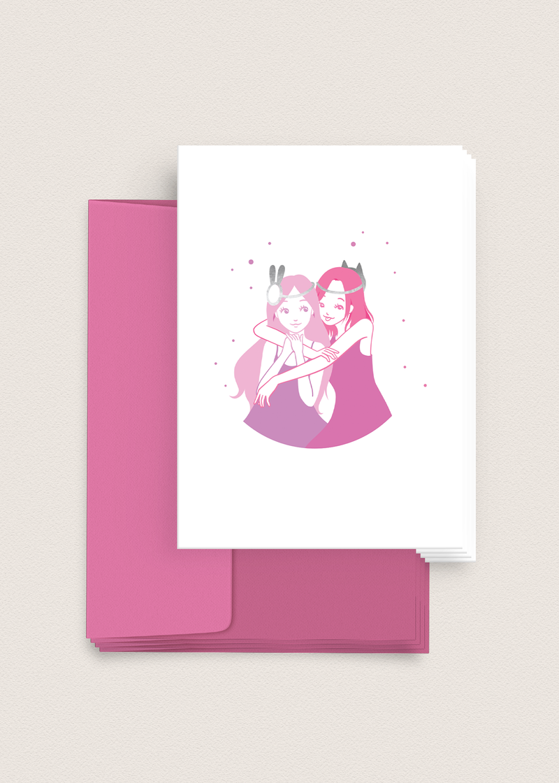 Greeting Card: Besties