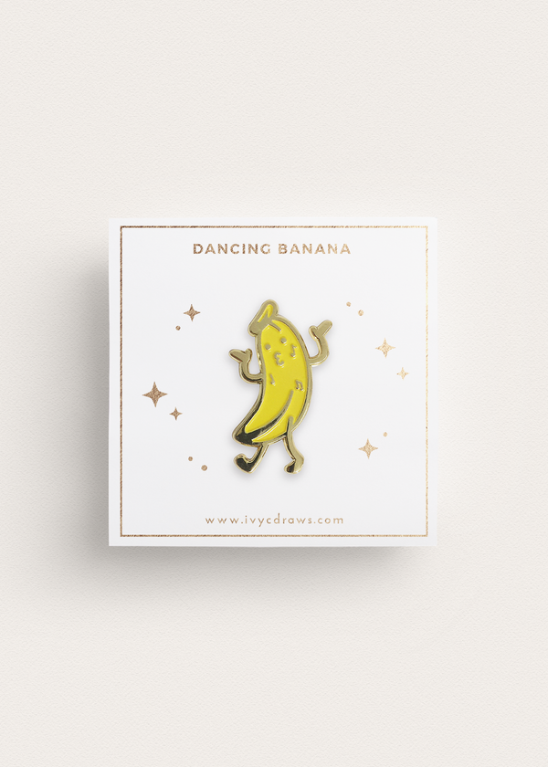 Dancing Banana Pin