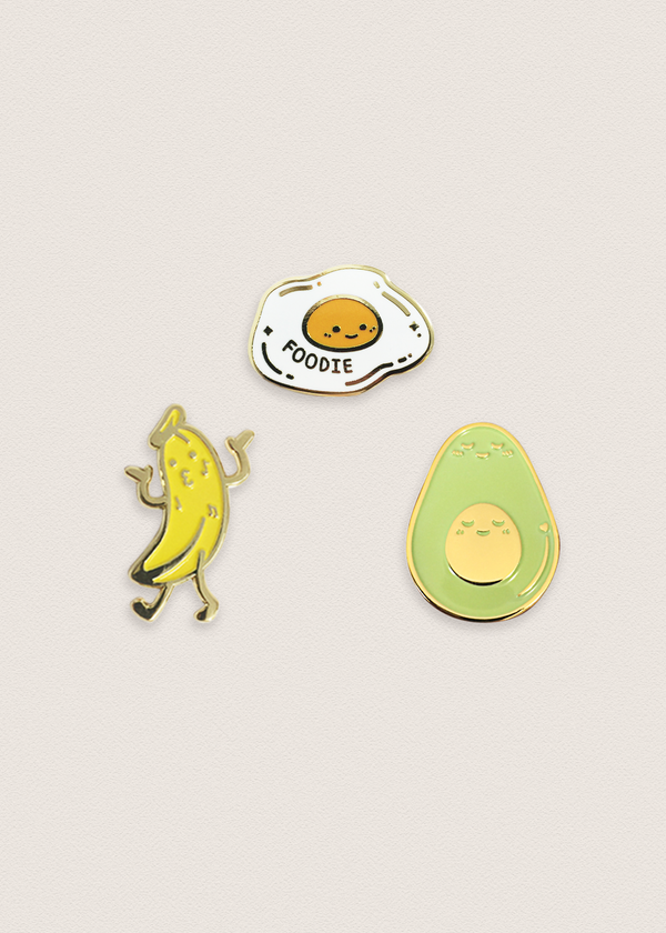Pin Bundle: Foodies