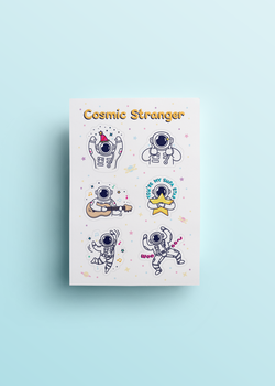 Cosmic Stranger Celebration Sheet