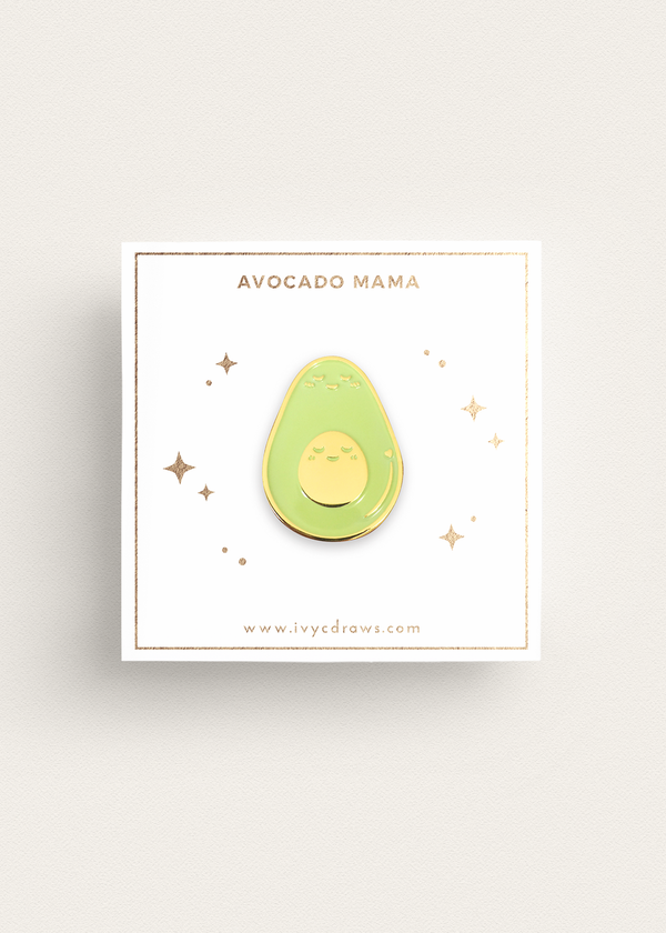 Avocado Mama Pin