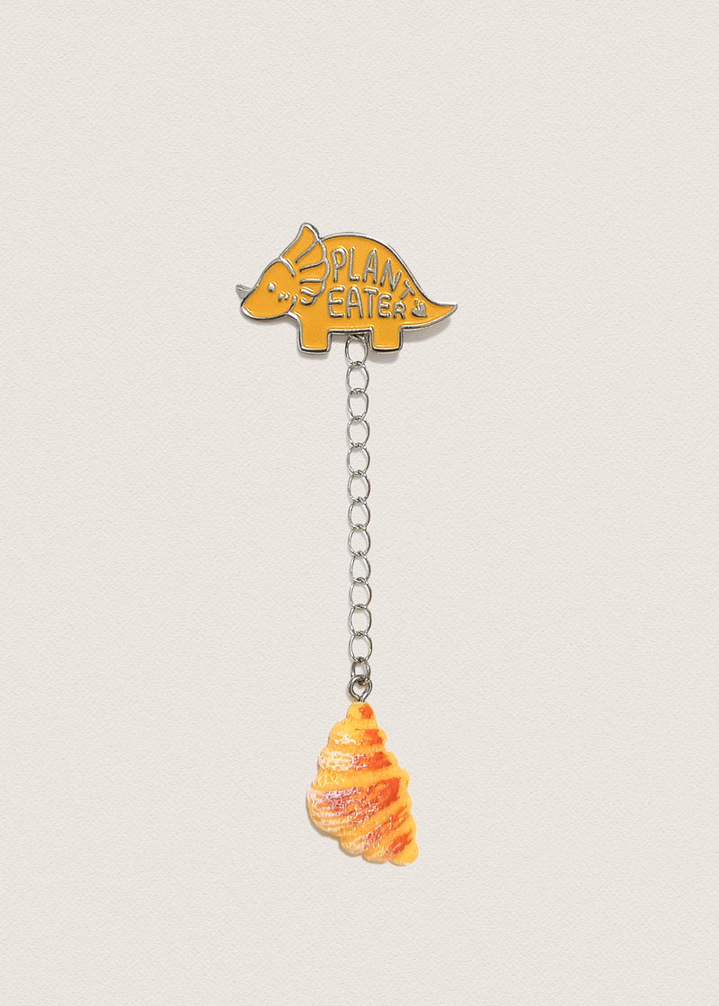 Croissant Pin Charm