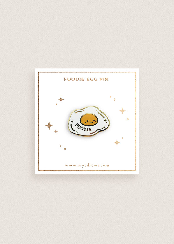Foodie Egg Pin
