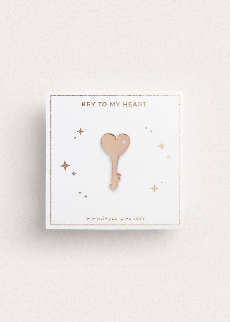 Key To My Heart Pin