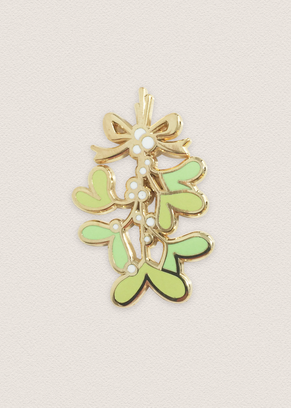 Mistletoe Pin