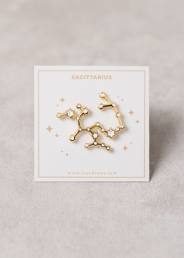Sagittarius Constellation Pin