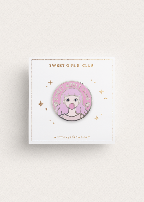 Sweet Girls Club Enamel Pin