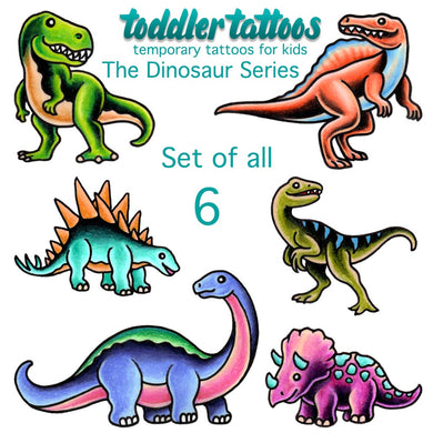 6 PACK OF OUR DINOSAUR SERIES - Save 20%