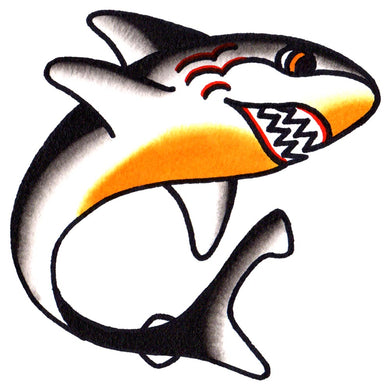 Shark Temporary Tattoo - 2.5