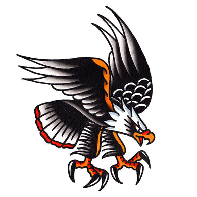 Eagle Temporary Tattoo - 3