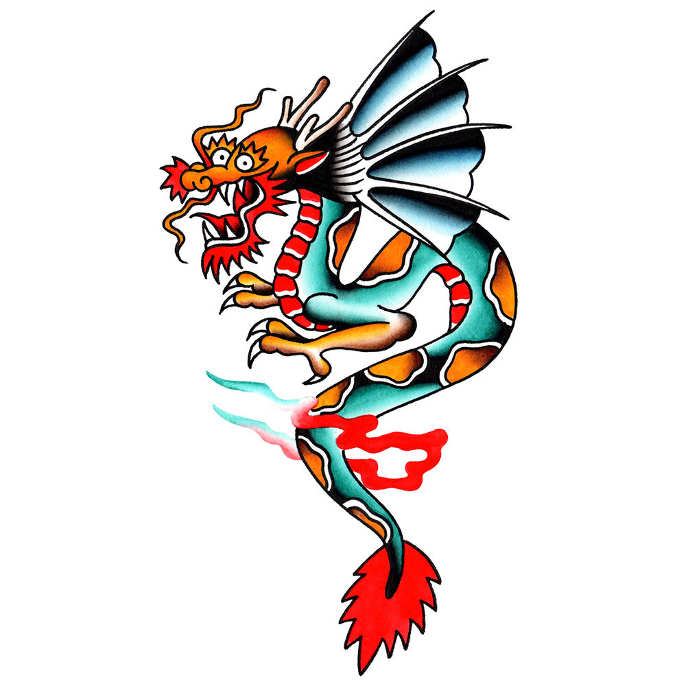 Dragon Temporary Tattoo - 3