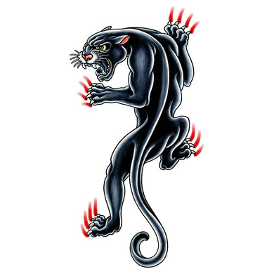 Panther Temporary Tattoo - 3