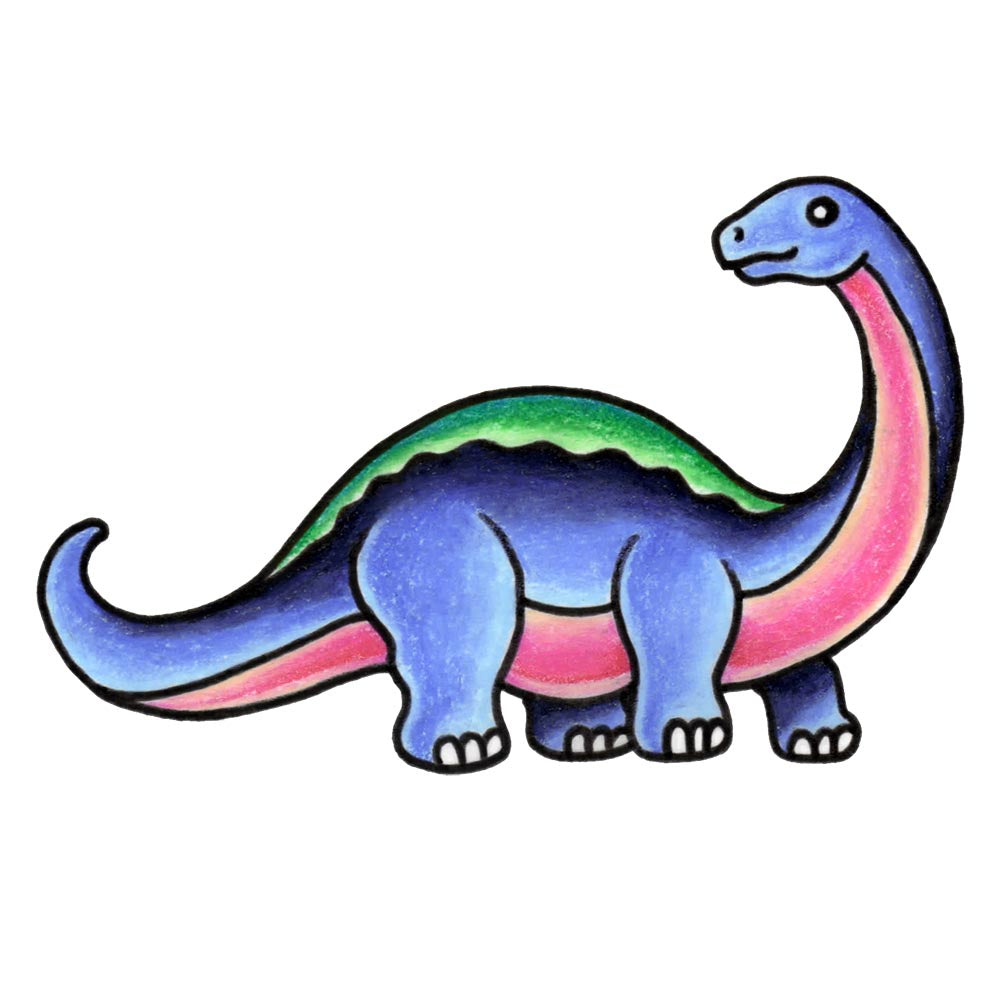 Brontosaurus - The Dinosaur Series - 2.5