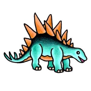 "Stegosaurus - The Dinosaur Series - 2"" x 3"""