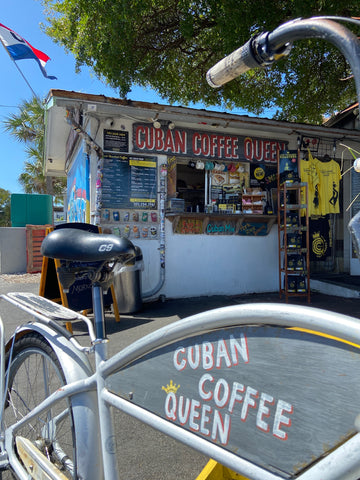 DON SUP AT THE CUBAN COFFEE QUEEN