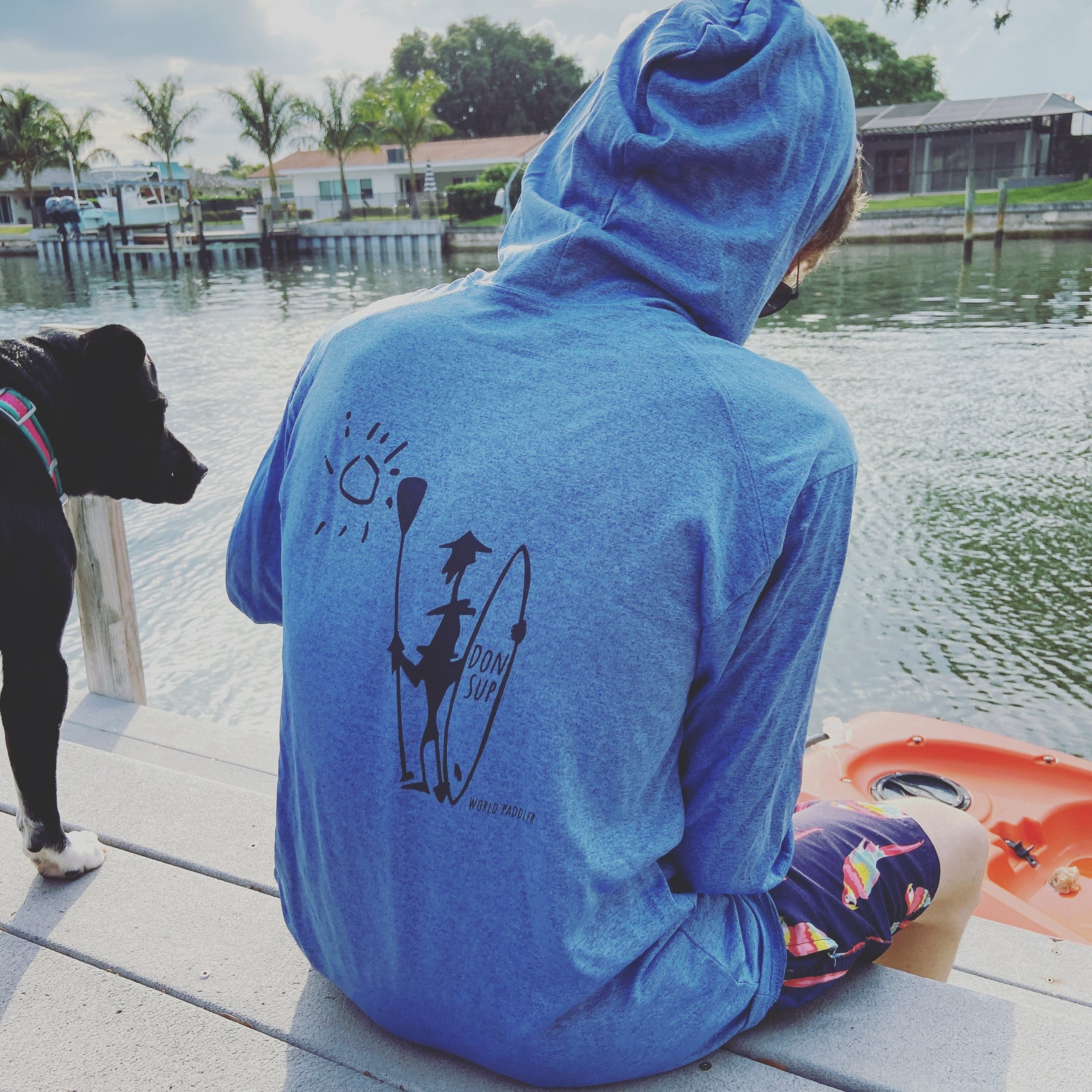 KAPUCHA Heather Blue Don Sup World Paddler