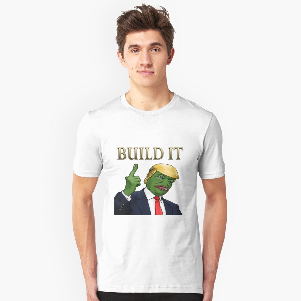 Pepe Trump Build It