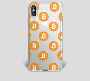 Bitcoin Phone Case For iPhone 6, 6s, 7, 8, X