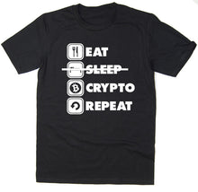Eat Sleep Crypto Repeat