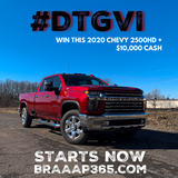 Chevy 2500 HD GIVEAWAY 100 Entry Bundle