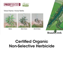 Prizefighter Certified Organic Roundup Alternative