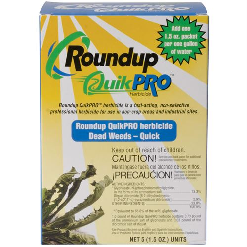 Roundup Quick Pro (5 x 1.5 oz packets)  - Covers 5,000 Square Feet