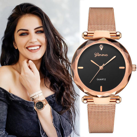 2018 Best Selling Women Watches Stainless Steel Analog Quartz