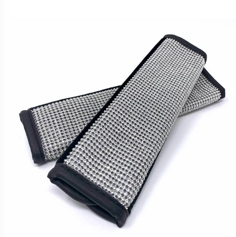 Crystal Seatbelt Cover 2pcs