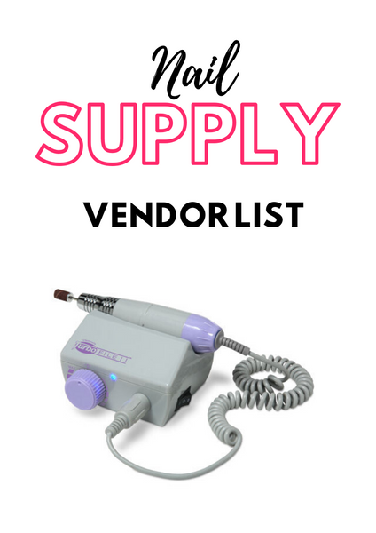 The Ultimate Vendor Lists