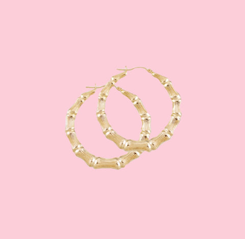 Pretty Simple Bamboo Hoops