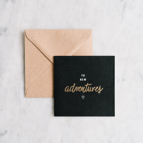 CARTE TO NEW ADVENTURES - COLLAB MY DEAR PAPER