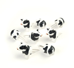 Corn Holders - Cow, 4 Pairs