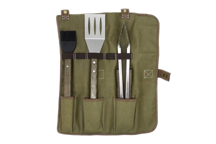 Oval Pro Chef™ 3PC Tool Set with Tote (S,LT,BB)