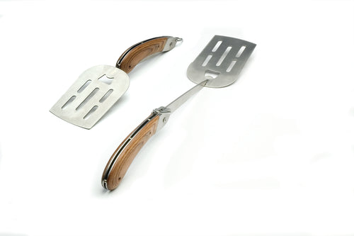 Stainless Steel Explorer Folding Handle Spatula